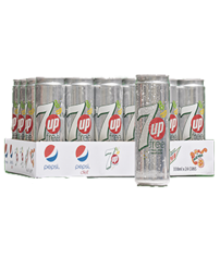 7UP Deit Can 330ml X 24