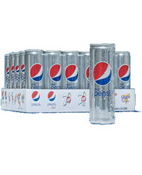 Pepsi Diet Can 250ml X 30