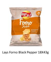 Lays Forno Authentic Cheese 18X43g
