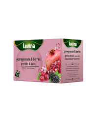 LAVINA POMEGRANATE & BERRIES FRUIT INFUSION 20S X 2G
